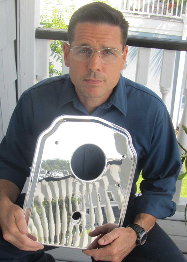 The Tub and Shower Update Plate Inventor - Matthew Francis. The product is used in Tub and Shower Valve Replacement.